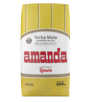 Lemon Yerba Mate Amanda 500 g.