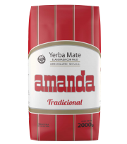 Traditional Yerba Mate Amanda 2 kg.